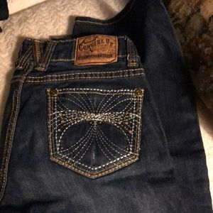 Cowgirl up jeans size 0